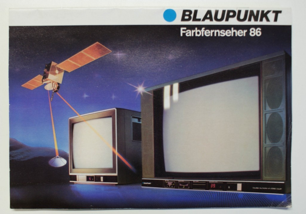 katalog prospekt blaupunkt fernseher 1986. Black Bedroom Furniture Sets. Home Design Ideas