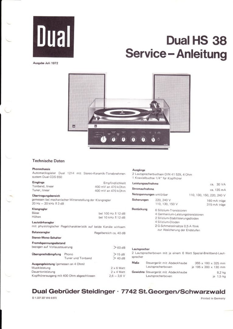 dual p43 hs14 service anleitung schaltplan. Black Bedroom Furniture Sets. Home Design Ideas