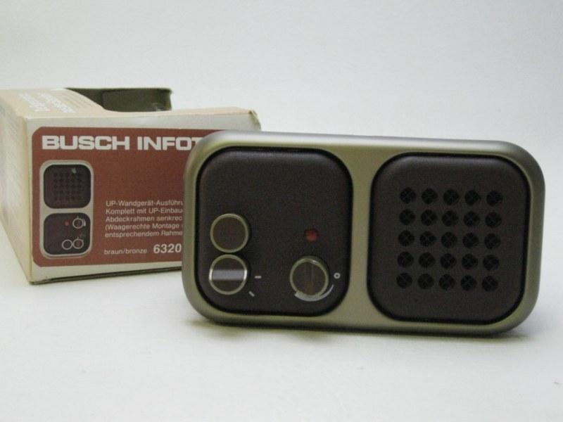 busch j ger infoton die sprechanlage aus der steckdose. Black Bedroom Furniture Sets. Home Design Ideas