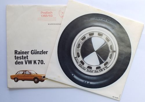 Rainer Günzler testet den VW K70 Single Vinyl