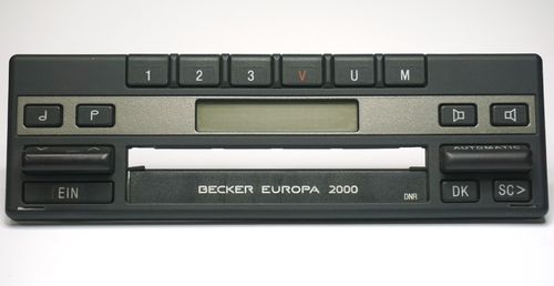 Frontbedienteil Becker Europa 2000 BE1100