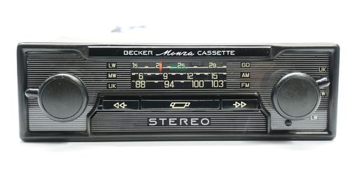 Becker Monza Cassette mit Bluetooth für Audiostreaming