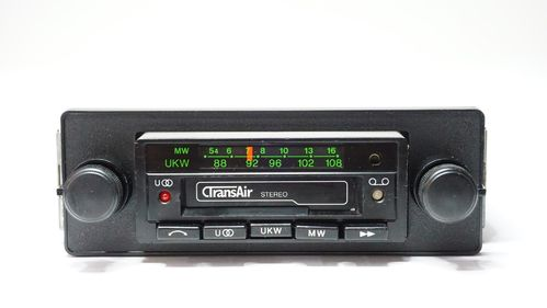 TransAir 80er Jahre Cassetten Autoradio - ideal für Japan Klassiker