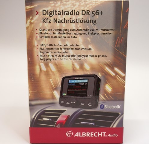 digitalradio dr56 dab autoradio adapter kfz. Black Bedroom Furniture Sets. Home Design Ideas